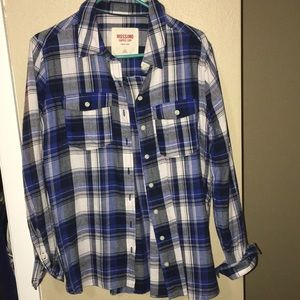 Other - Blue flannel